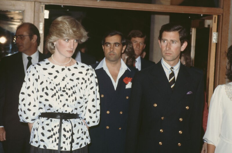 Charles And Diana In Adelaide