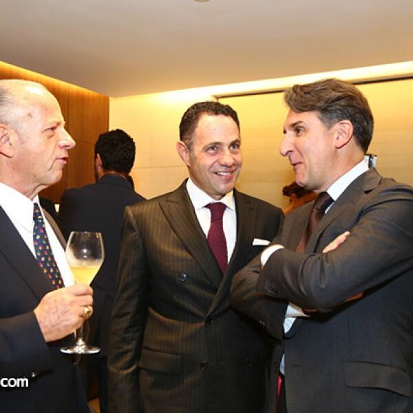 Rafael Alazraki,Sergio Berger y Carlos Alonso