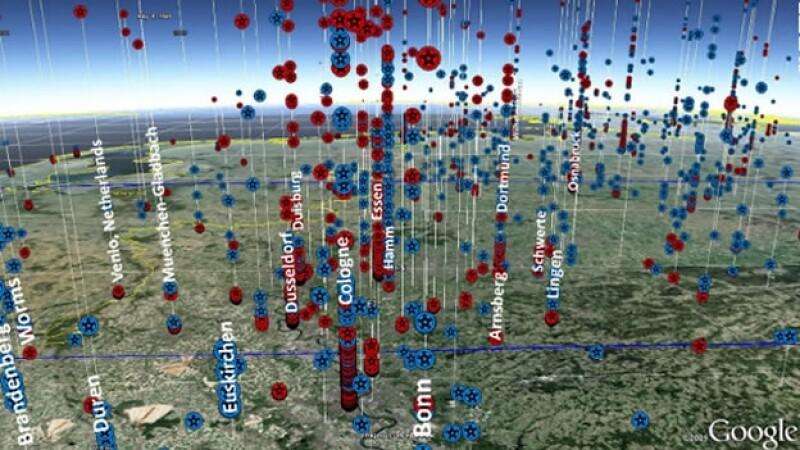 Sistema THOR monitorea bomardeos estadounidenses