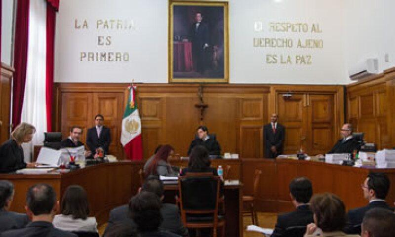 Los cinco ministros de la segunda sala de la Suprema Corte decidieron amparar a comunidades indígenas de Yucatán y Campeche (Foto: Cuartoscuro/Archivo )