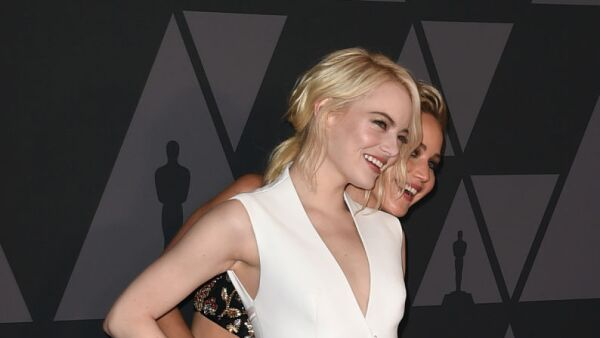 Jennifer Lawrence y Emma Stone