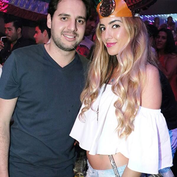 Daniel Quintana y Karla Rojo De La Vega