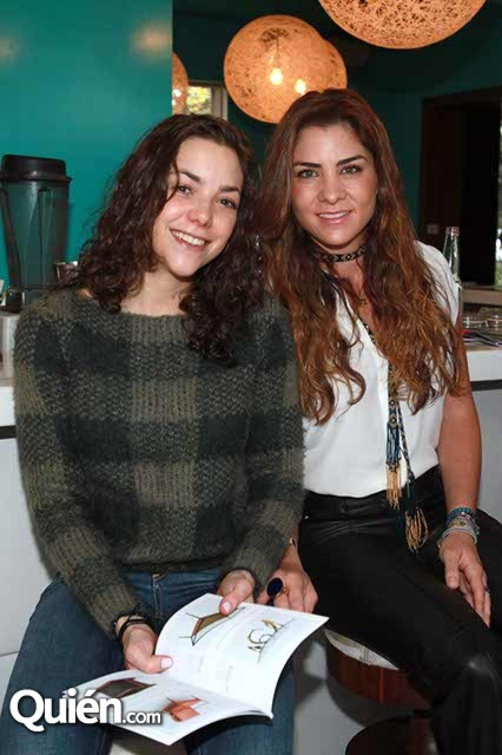 Marlene Mizrahi y Olga Micha