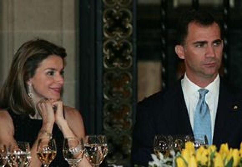 Los príncipes de Asturias tuvieron espacio para el relax durante la visita a nuestro país e incluso probaron delicias locales.