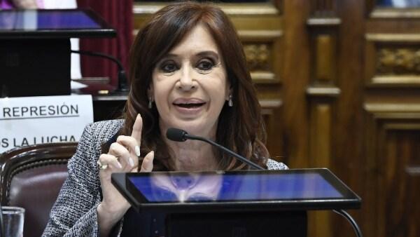 Cristina Fernández Senado Argentina allanamiento