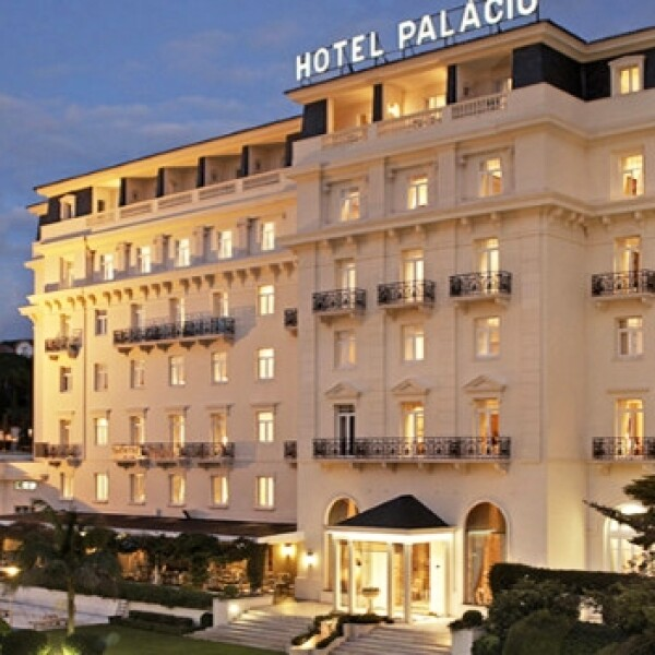 On her majesty's secret service locacion Hotel Palacio Portugal