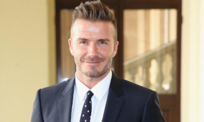 Beckham jugó en equipos como el Manchester United y el Real Madrid. (Foto: Getty Images)