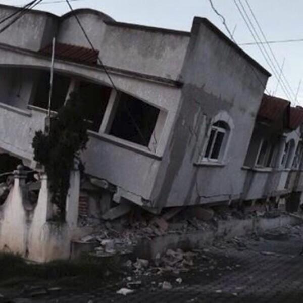 Una vivienda sufrió daños severos en Guatemala por el movimiento telúrico