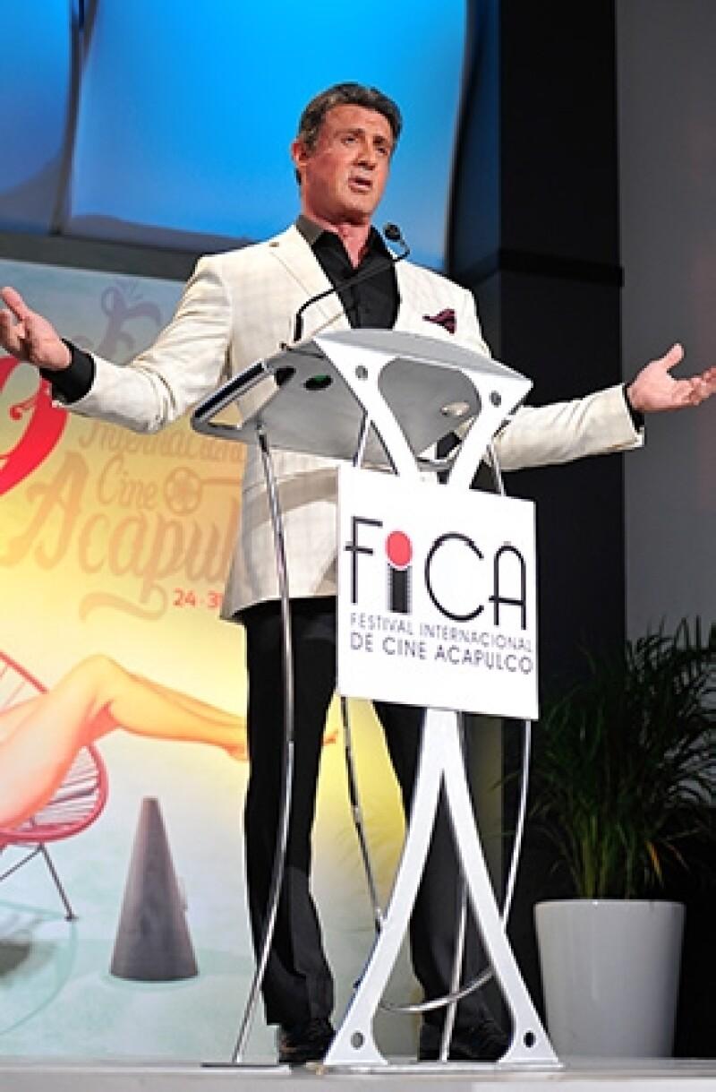 En el marco del Festival Internacional de Cine de Acapulco fue reconocido por su trayectoria y en su discurso confesó sentir un gran amor por el puerto.