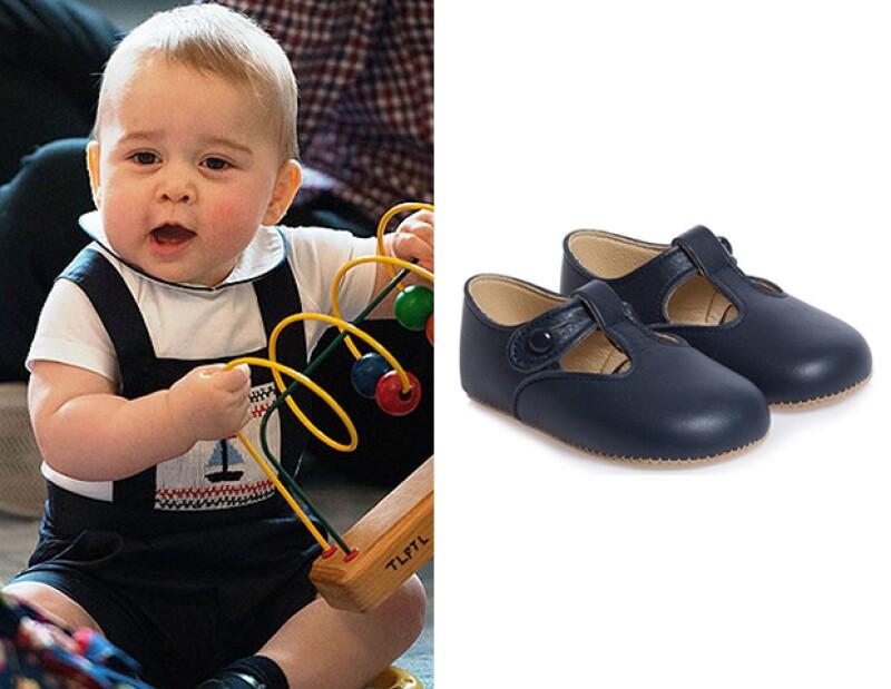 El outift del príncipe George se agotó horas después de que salieron imágenes del bebé. / Los zapatos Alex de Early Days.