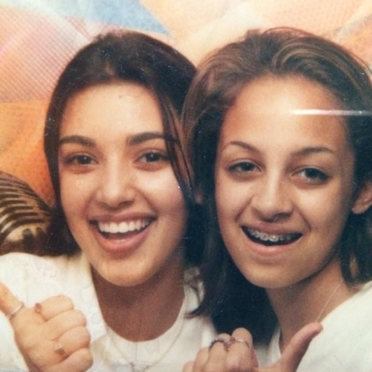 Así eran Kim Kardashian y Nicole Richie a los 13 años