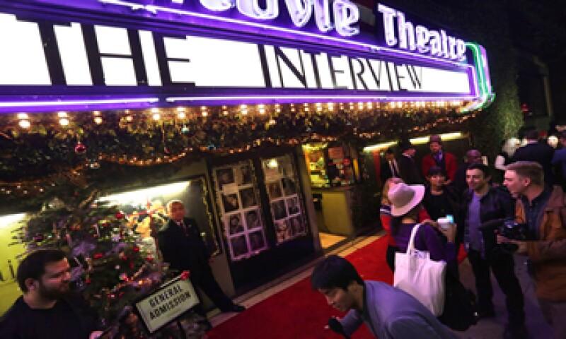 La proyección de la película se había cancelado inicialmente tras amenazas. (Foto: Reuters )