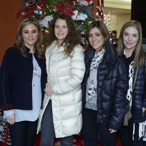 Gabriela Rassam,Jessica Álvarez,Karina Rassam e Irene Duarte