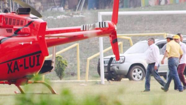Horacio Duarte adelantó que denunciarán al abanderado del PAN-PRD, José Antonio Estefan Garfias, quien supuestamente fue captado utilizando un helicóptero oficial en la campaña.