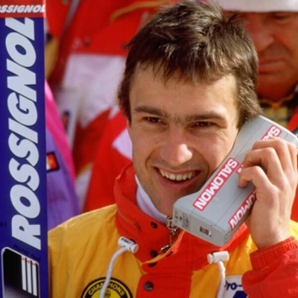 Franck Piccard 1988 historia celulares