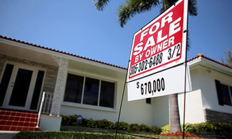Las ventas pendientes de casas bajaron 0.4% en el periodo. (Foto: Getty Images)