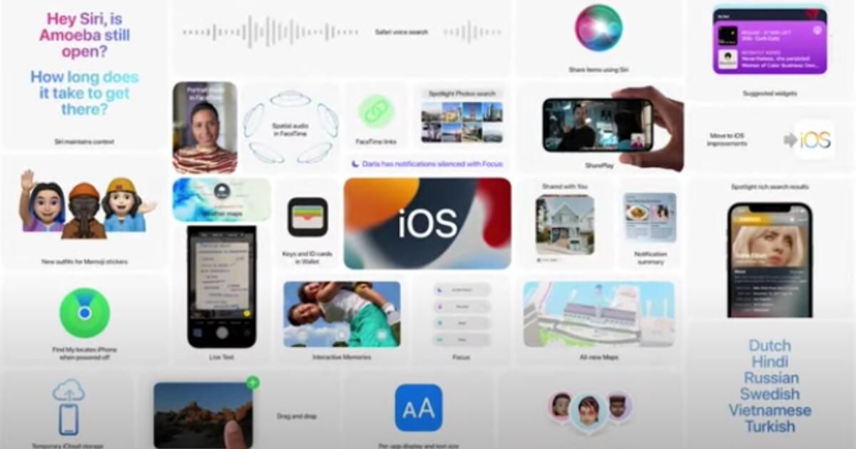 Apple estará en Android con la versión de iOS 15