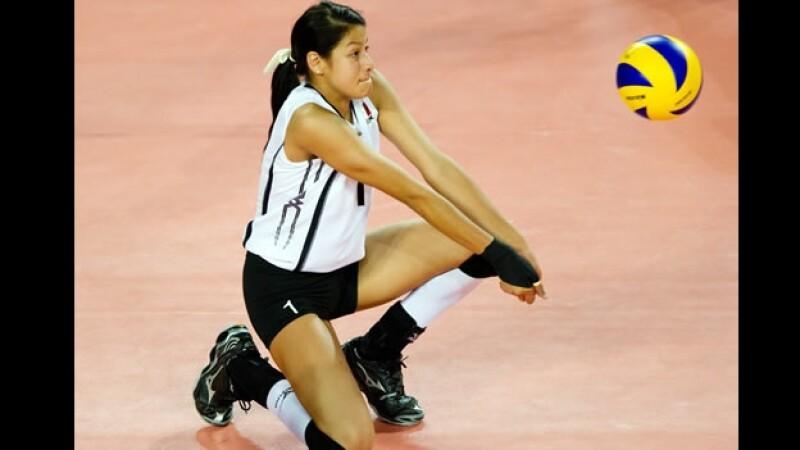 Seomara Sáenz voleibol