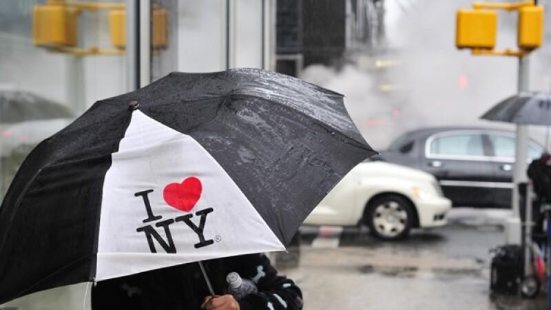 NY nueva york logo creativo i love