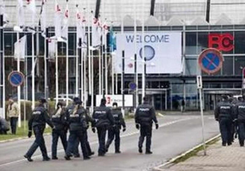 Una seguridad estricta impera en el Bella Center de Copenhague, sede de la conferencia de cambio climático. (Foto: Reuters)