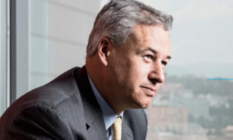 Hace nueve meses, Raúl Gallegos tomó la dirección de GE en México. (Foto: Carlos Aranda)