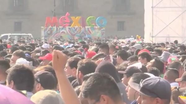 """Así vivió la Ciudad de México la agónica clasificación del """"Tri"""" a octavos de fi"""