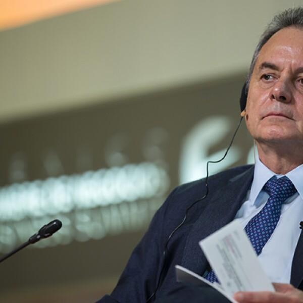 El secretario de Energía, Pedro Joaquín Coldwell, habló sobre el carácter experimental de la Ronda Uno.