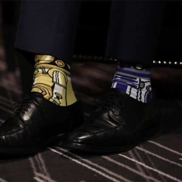 Star wars calcetines Trudeau