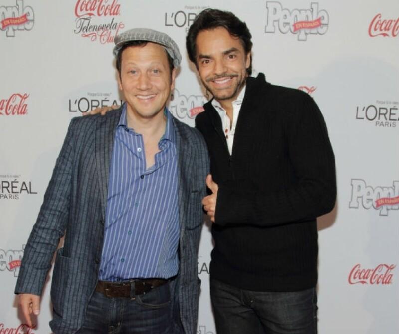 Uno de los buenos amigos mexicanos de Rob Schneider es Eugenio Derbez.