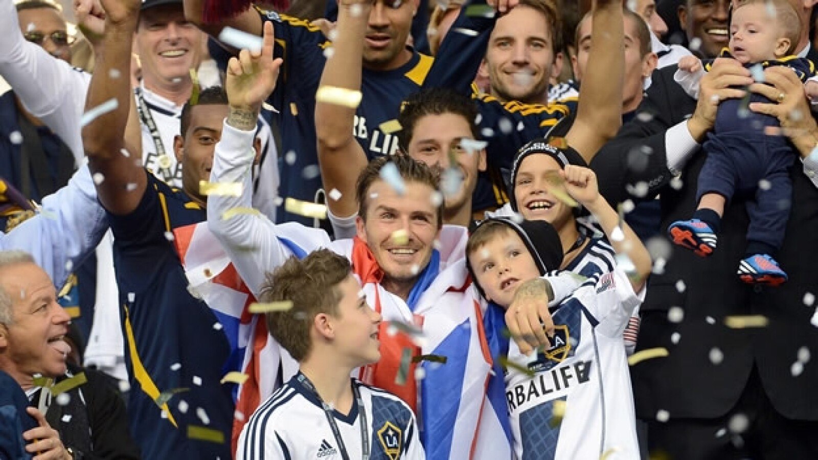 David Beckham despedida 7