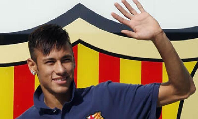 Neymar llegó al Barcelona para la actual temporada procedente del Santos. (Foto: Reuters)