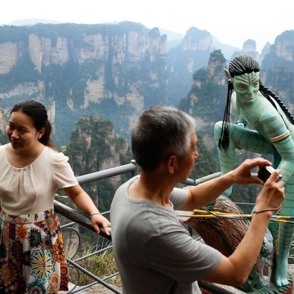 Parque Zhangjiajie Avatar Tianzi
