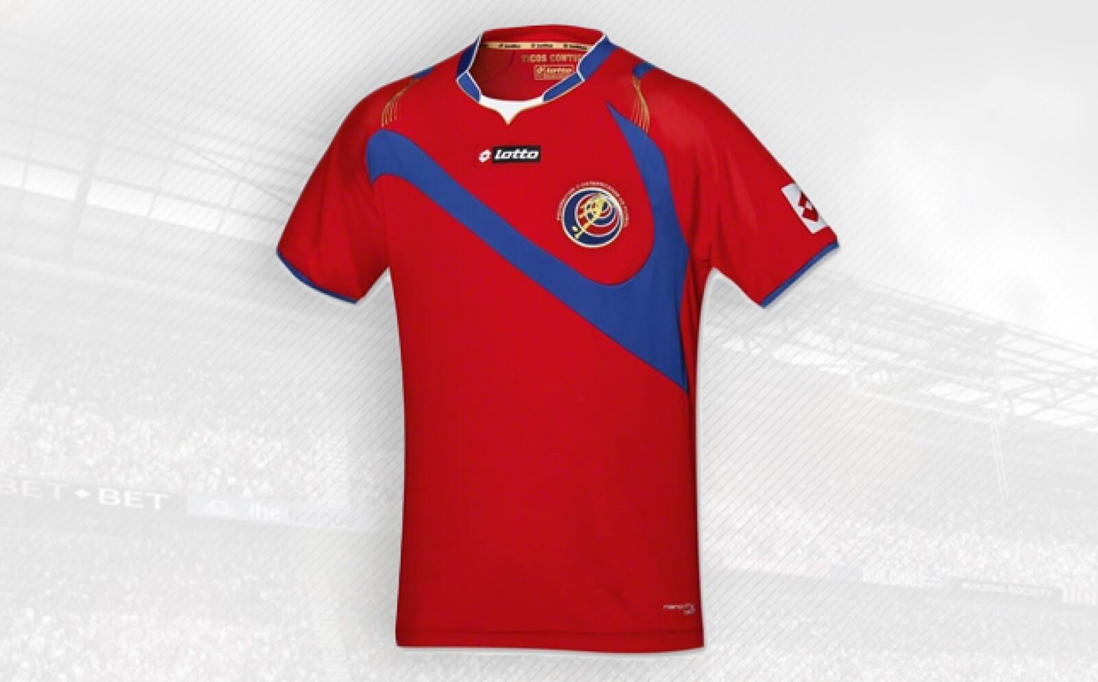 La escuadra centroamericana es la única selección de la italiana Lotto.