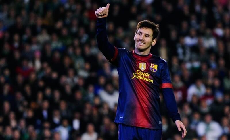 Lionel Messi Barcelona archivo Getty