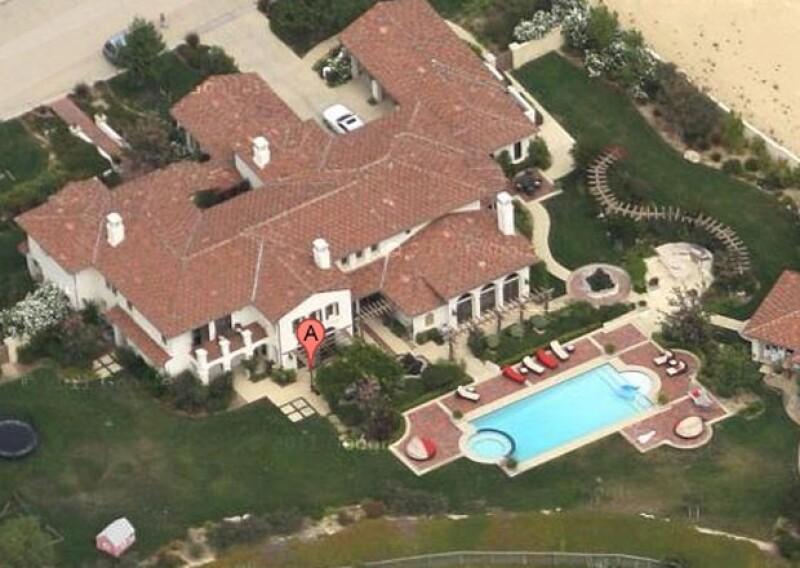 Esta es la propiedad que pertenecía a Bieber y ahora ocupará Khloe. ¿Un poco grande para ella?