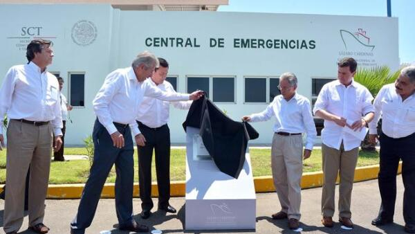 Inauguraci�n Central de Emergencias