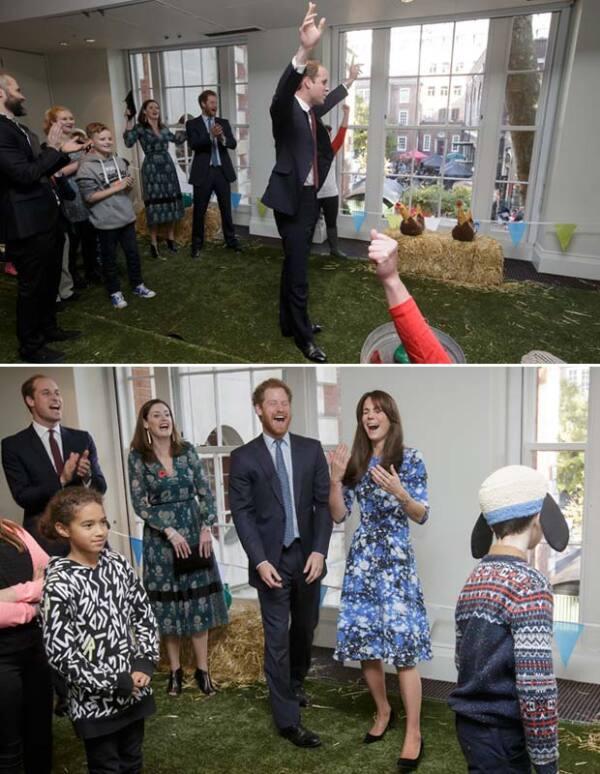 Tanto Kate como Harry fueron vencidos por el príncipe William.