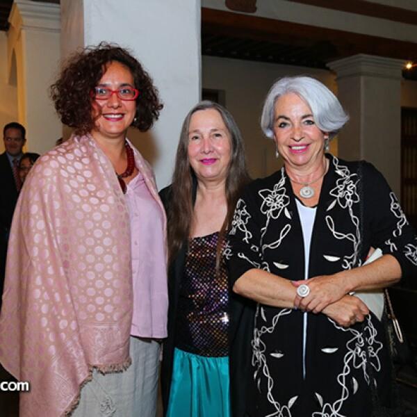 Gabriela Malvido, Tere Aznar y Tessy Massieu