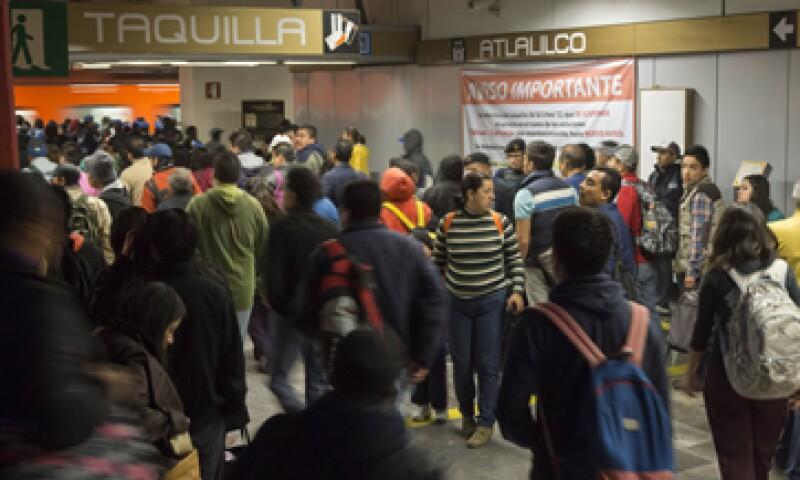 La suspensión del servicio en la Línea 12 podría durar hasta 6 meses, según el Gobierno. (Foto: Cuartoscuro)