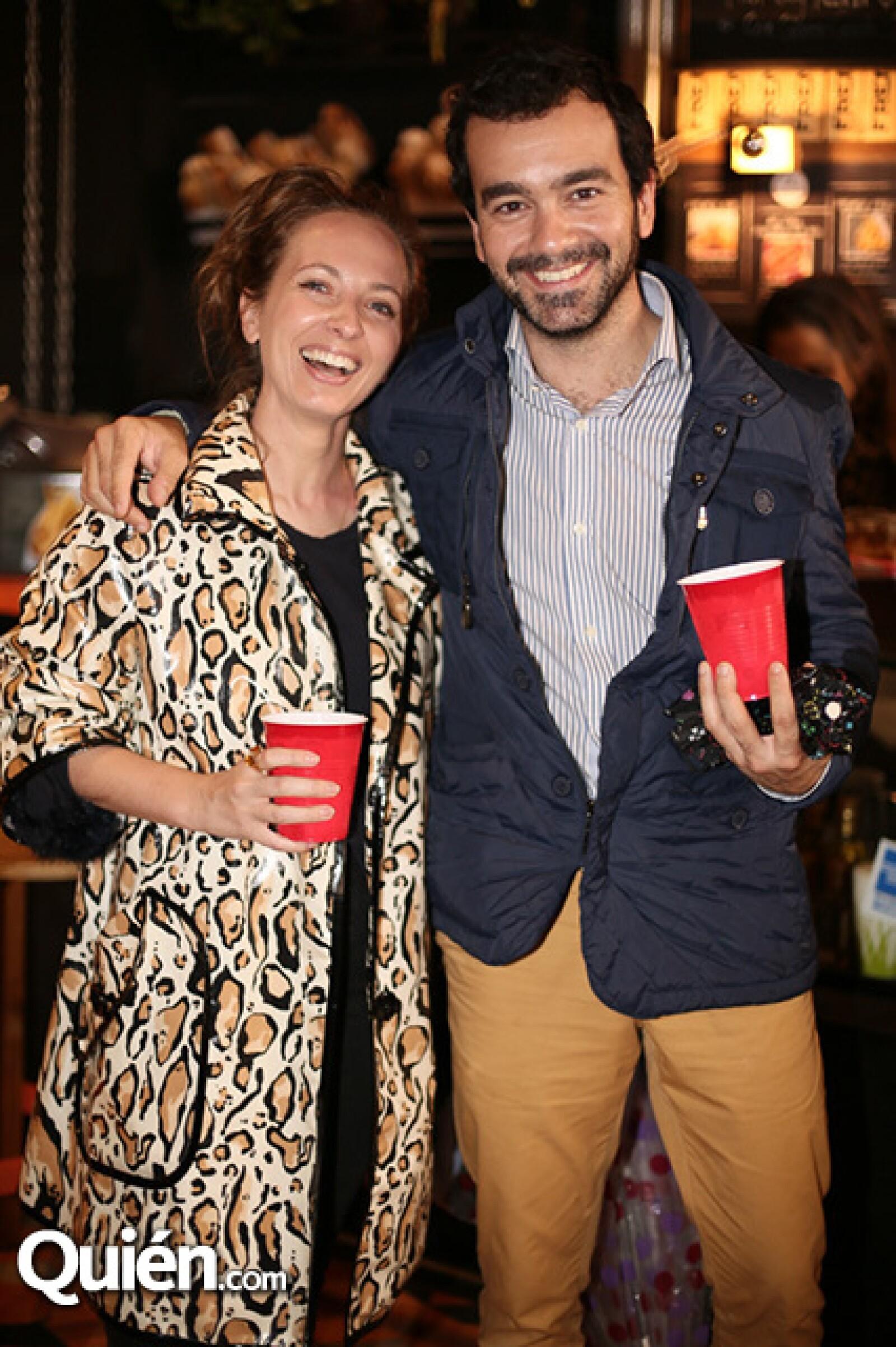 Graciela Velo y Rafael Vidal