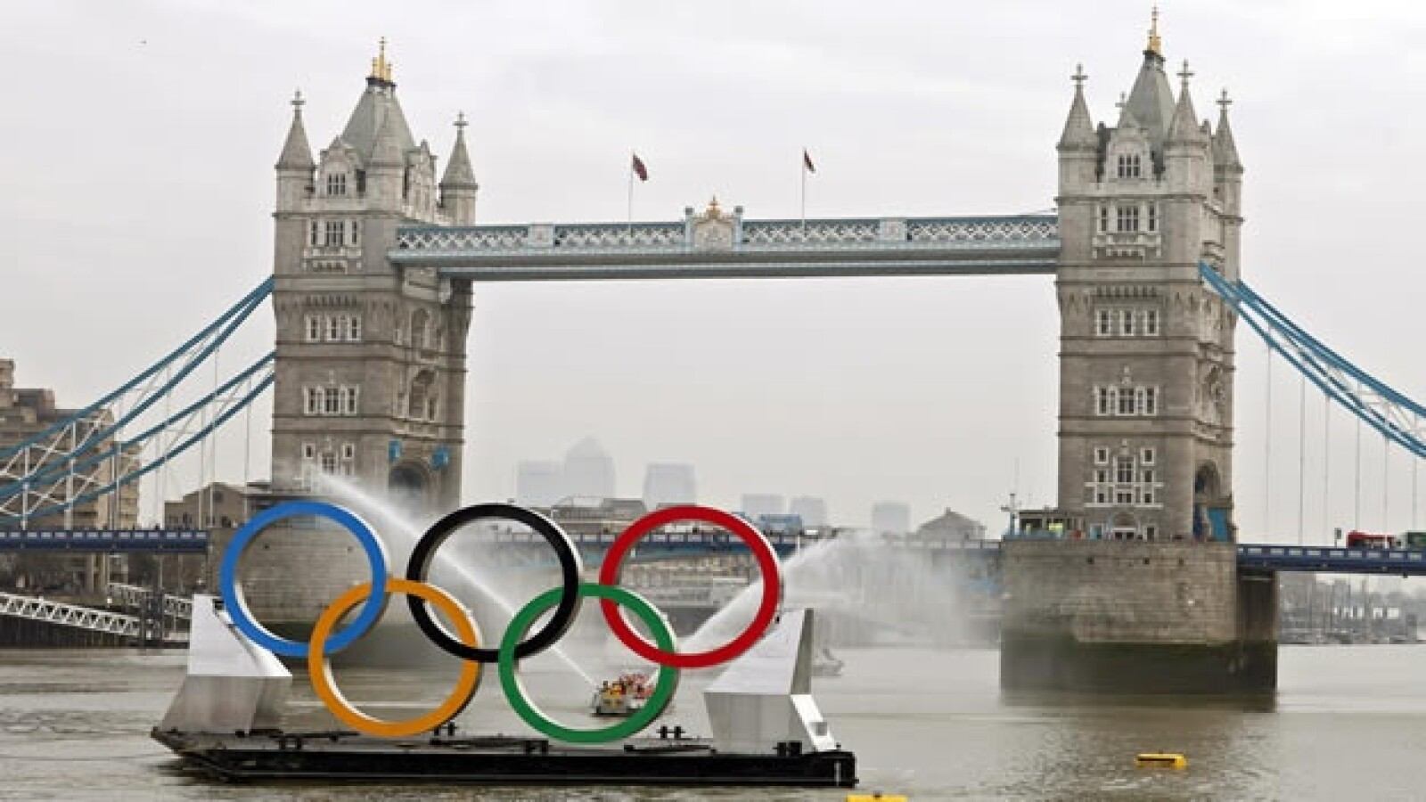 aros olímpicos Londres