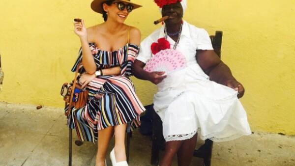 Los actores se tomaron unos días de descanso para disfrutar de su relación alejados de México y qué mejor lugar que La Habana.