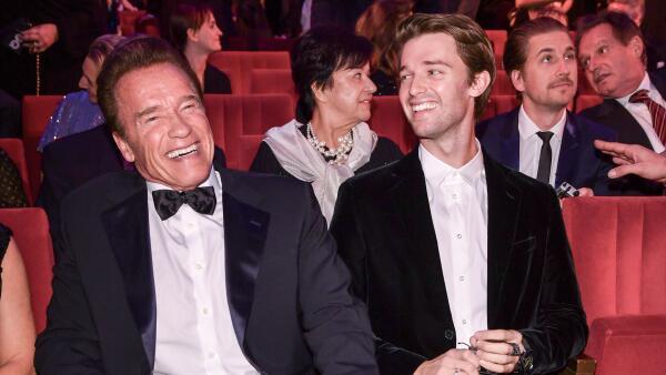 Arnold y Patrick Schwarzenegger 2017