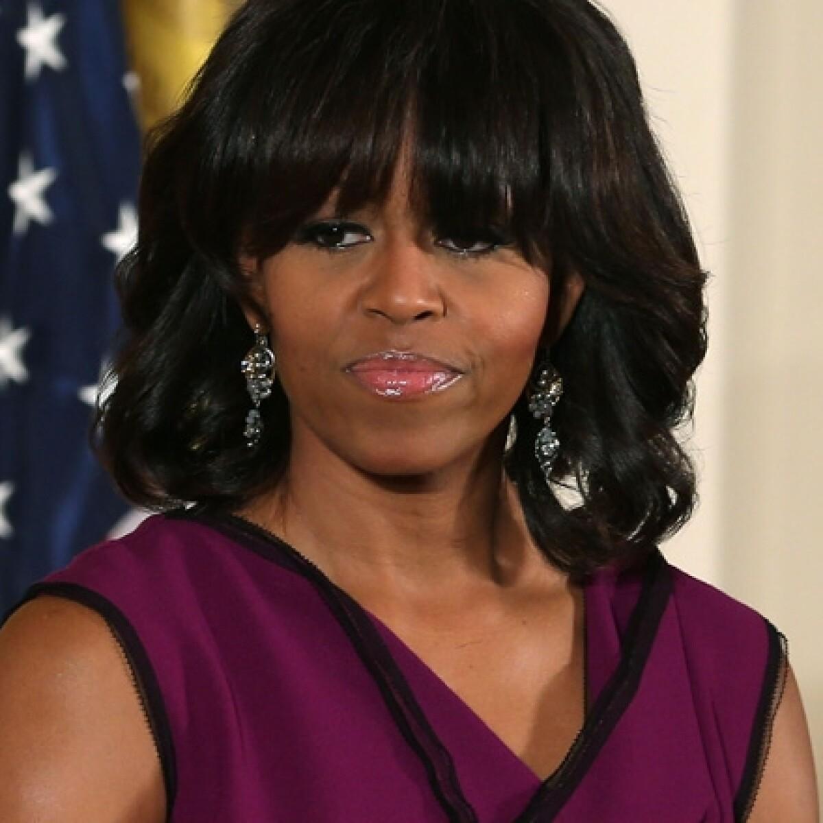 Michelle Obama, furiosa por ser interrumpida durante discurso