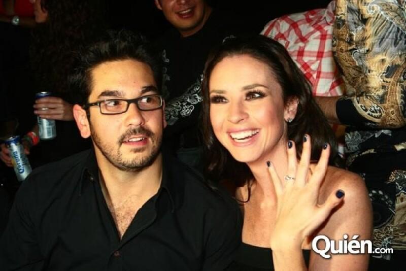 Andrea Torre y Pedro Ortiz de Pinedo se casaron el año pasado.
