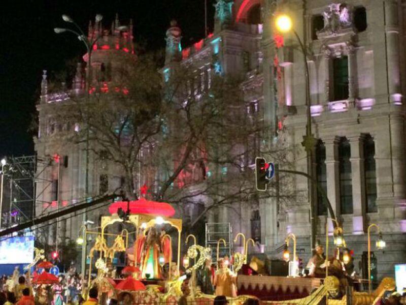 El desfile de Día de Reyes desde la óptica de Danna García.