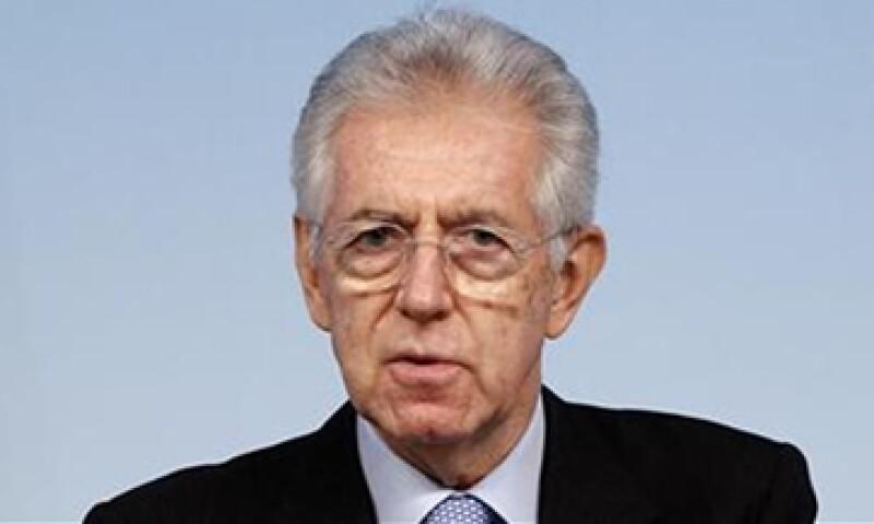 Mario Monti, ministro de Italia, descartó que el país que dirige necesite más medidas de austeridad. (Foto: Reuters)