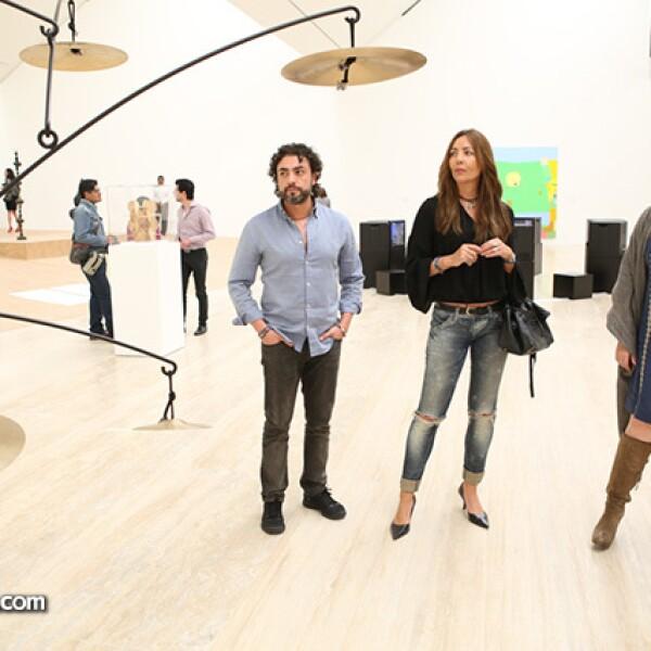 Moncho González,Susan Crowley y Marisa Fernández
