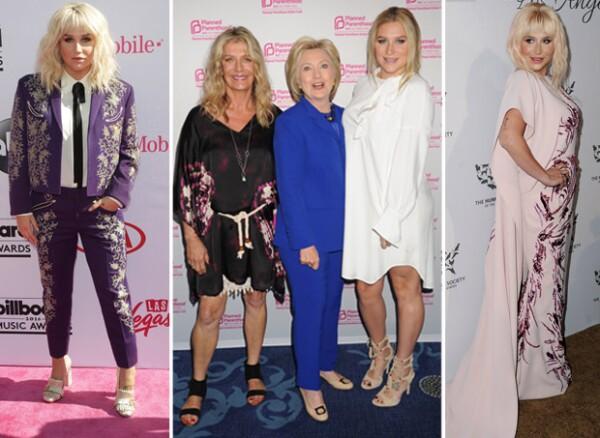 En sus más recientes apariciones, la cantante ha lucido outfits muy holgados.