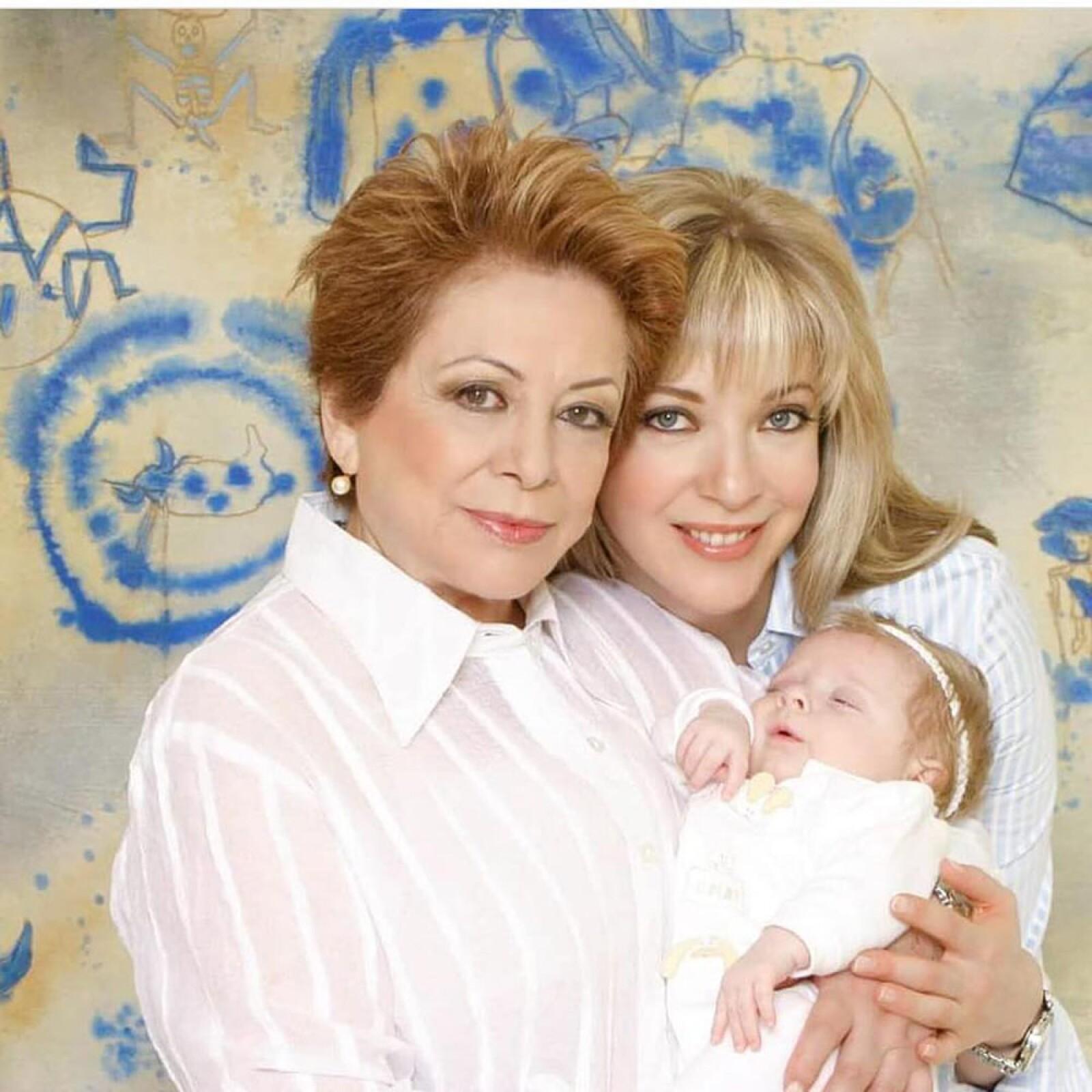 Edith González y Constanza Creel